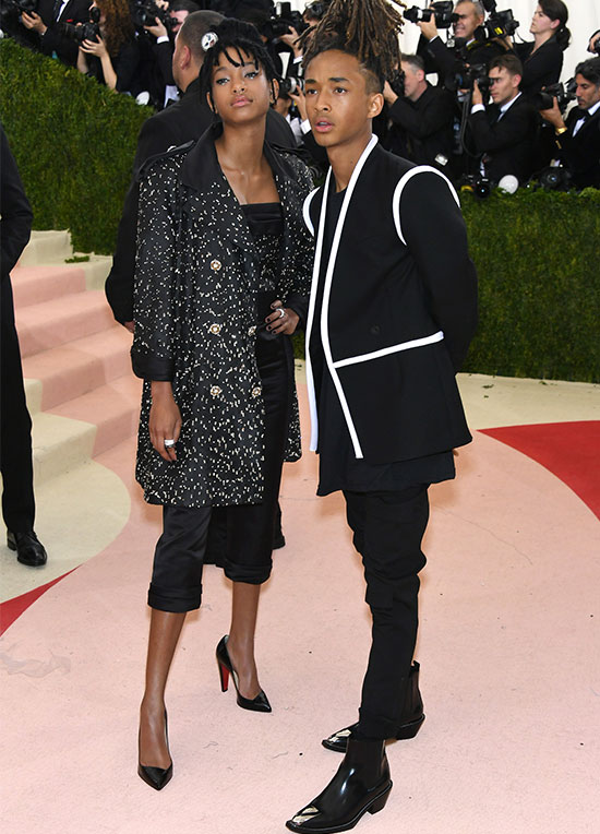 Willow and Jaden Smith Met Gala