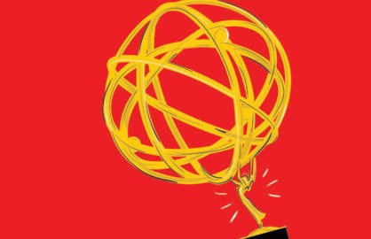 Super-Sized Emmys Art