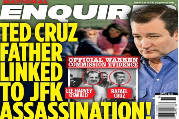 Ted Cruz Father JFK trump