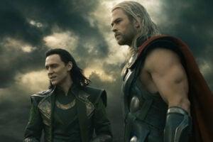 Thor 2 chris hemsworth tom hiddleston