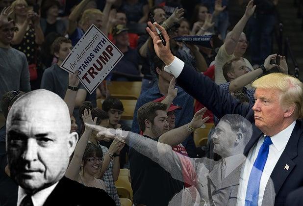 KKK Grand Wizard White Supremacists Donald Trump