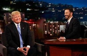 Donald Trump on Kimmel May 2016