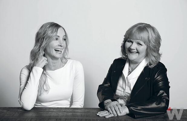 Joanne Froggatt and Lesley Nicol