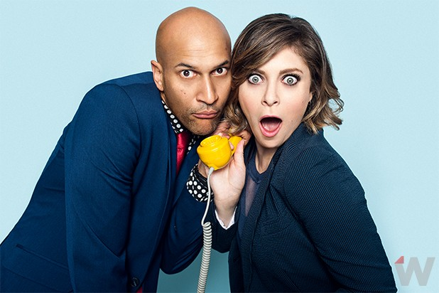 Keegan Michael Key and Rachel Bloom