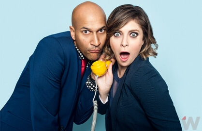 Keegan-Michael Key and Rachel Bloom