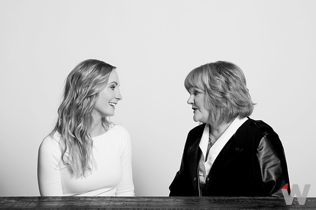 Joanne Froggatt and Lesley Nicol