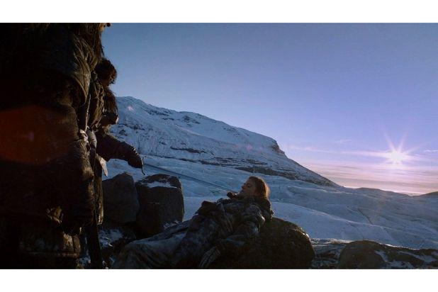 jon snow captures ygritte