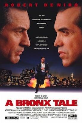 a bronx tale movie poster cliche