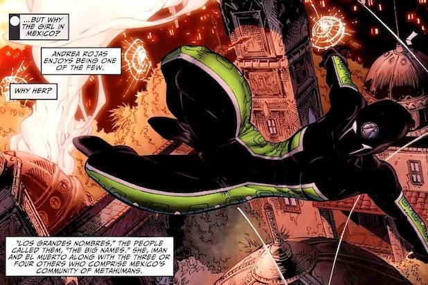 acrata latino superheroes