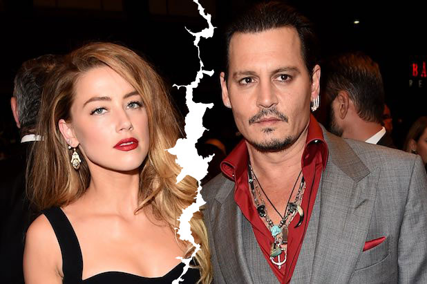 amber heard johnny depp split