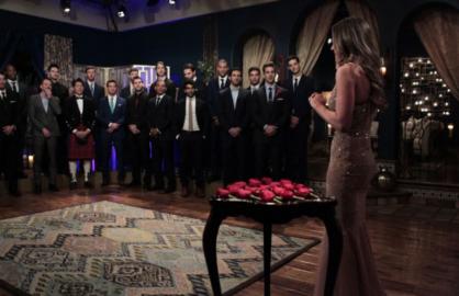 Bachelorette Rose Ceremony