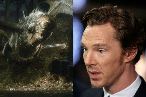 benedict cumberbatch smaug the hobbit