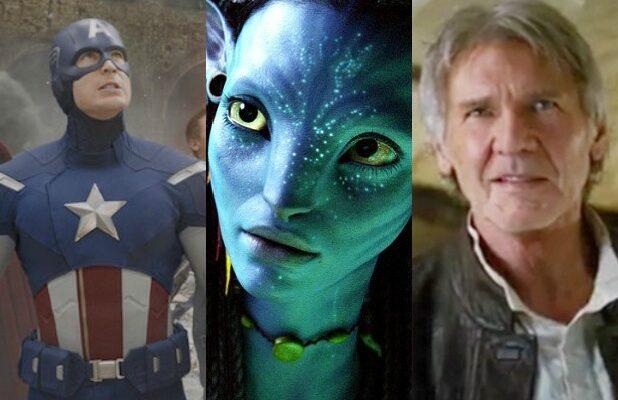 billion dollar club box office worldwide avengers captain america avatar star wars force awakens han solo