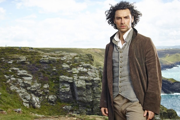 bond aidan turner poldark