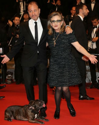 carrie fisher garry dog cnanes