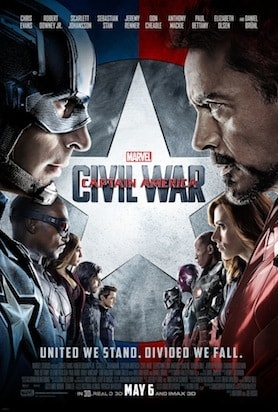 civil war movie poster cliche