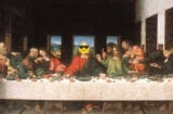 emoji bible last supper