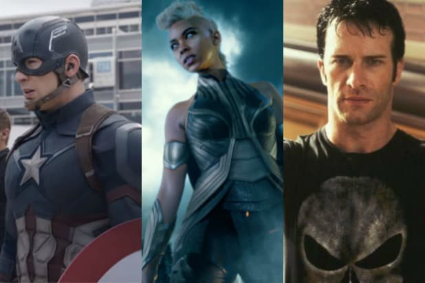 every marvel movie ranked storm captain america punisher