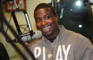"NEW YORK, NY - OCTOBER 08: Gucci Mane invades ""The Whoolywood Shuffle"" at SiriusXM Studios on October 8, 2012 in New York City. (Photo by Johnny Nunez/WireImage)"