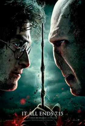 harry potter and the deathly hallows part 2 movie poster cliche