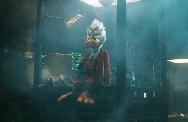 howard the duck marvel post-credits scenes