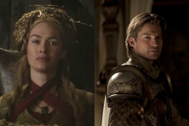 jaime and cersei