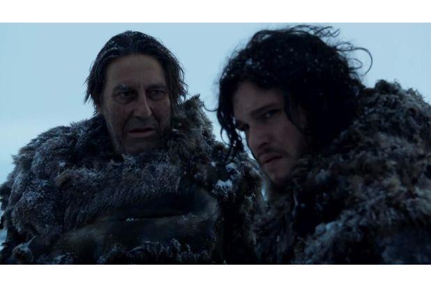 jon snow and mance