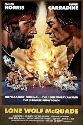 lone wolf mcquade movie poster cliche