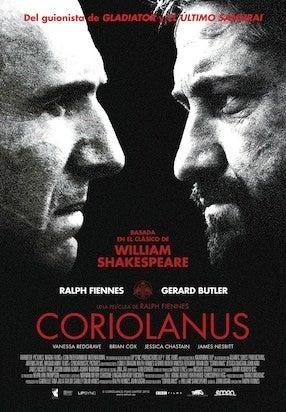 movie poster cliche coriolanus