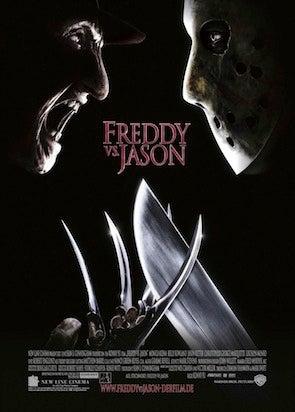 movie poster cliche freddy vs jason
