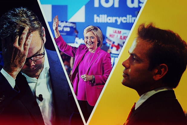 Sorry Dad Are Lachlan and James Murdoch Voting for Hillary Clinton