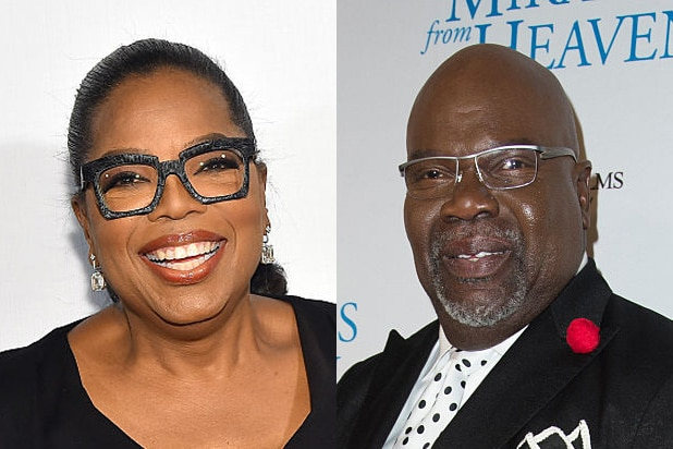 Oprah Winfrey Called TD Jakes to Promise OWN's Naughty New Church
