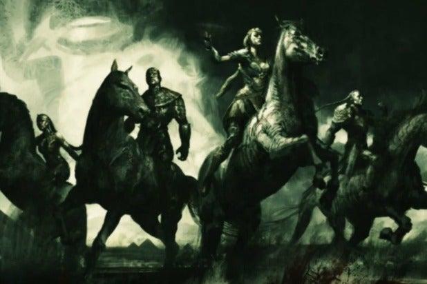 original four horsemen x men apocalypse