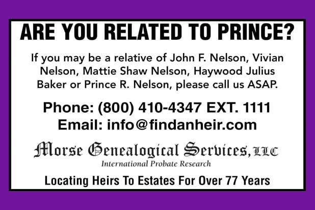 prince relative ad