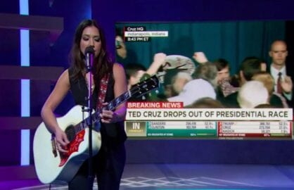 samantha bee michelle branch ted cruz song