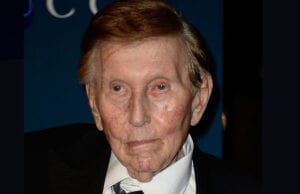 Producer Sumner Redstone arrives at the LACMA 2013 Art + Film Gala on November 2, 2013 in Los Angeles, California