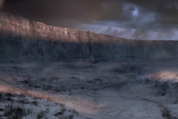 Wall Photo game of thrones': the wall is magic but not invulnerable