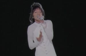 Whitney Houston Hologram