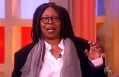 whoopi goldberg the view donald trump