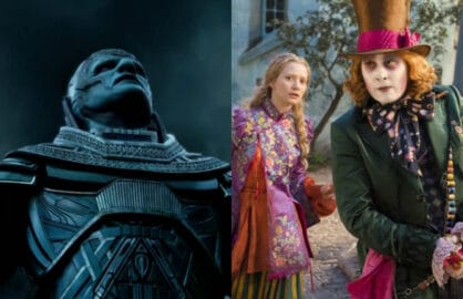 alice through the looking glass x men apocalypse