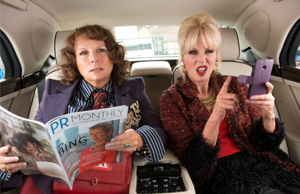 Absolutely Fabulous Saunders Lumley