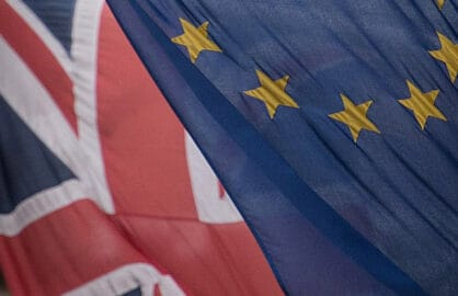 Brexit Flags