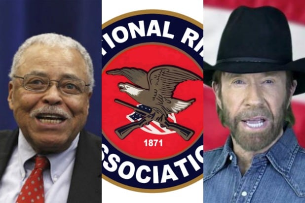 11 Stars in the NRA: From Chuck Norris to James Earl Jones