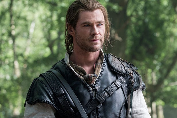 Chris Hemsworth Winters war