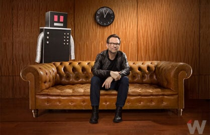Christian Slater photographed for TheWrap Magazine by Hollenderx2