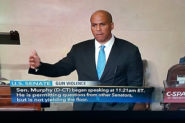 Cory Booker Filibuster