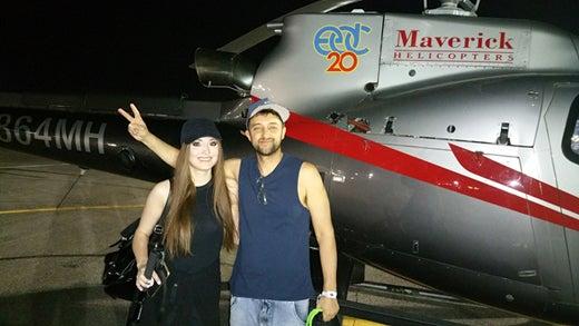 DJ Wuki EDC Las Vegas Maverick Helicopters