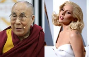 Dalai Lama and Lady Gaga Facebook Live