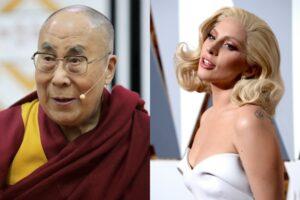 Dalai Lama and Lady Gaga Facebook Live
