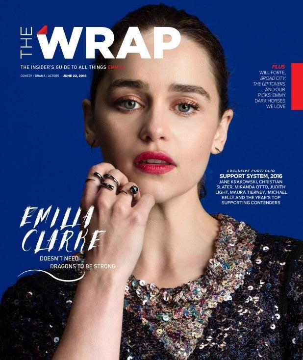 emilia clarke cover